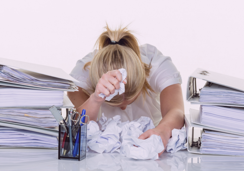Clutter and Overwhelm Go Hand in Hand